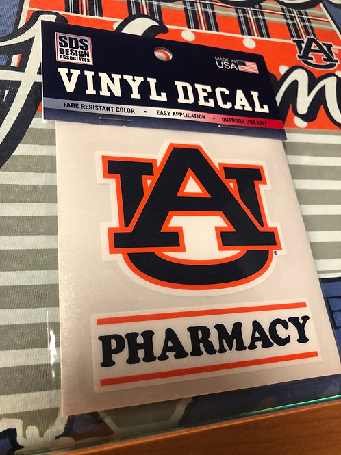 "3"" AU Pharmacy Decal"