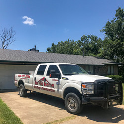 Recently completed roofing contract
