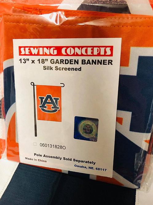 """13"""" x 18"""" AU Garden Banner"""