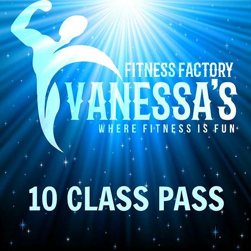 Vanessa's 10 Class Pass