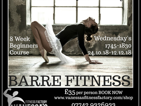 BARRE FITNESS WORKOUT COMING SOON
