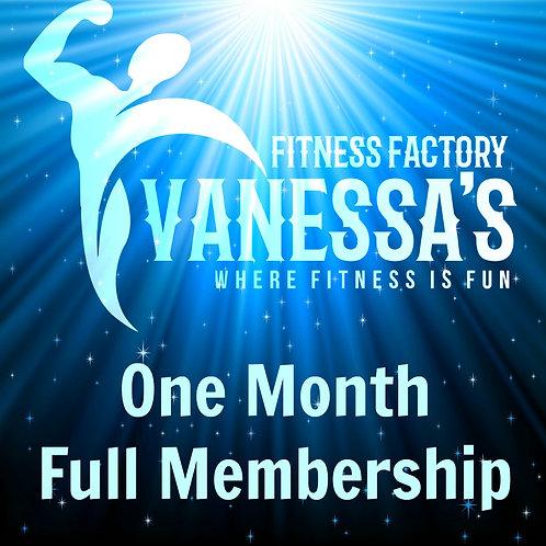 One Month Full Membership