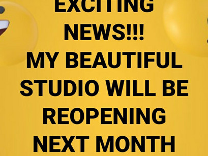 EXCITING NEWS!!!!!