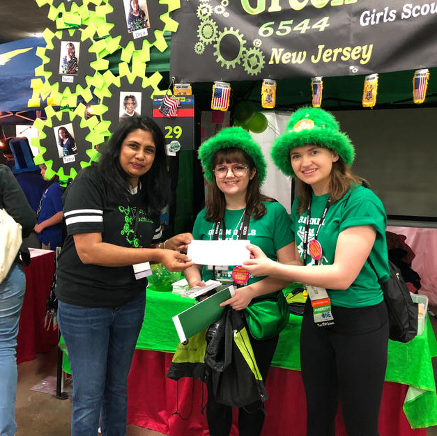 Awarding team grant to Green Machine