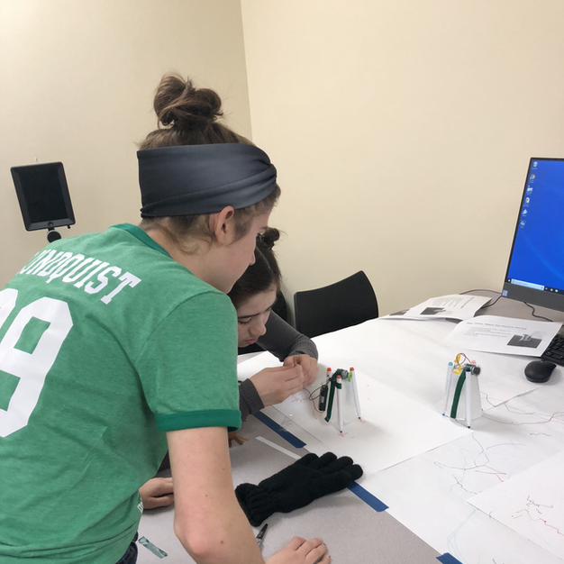 Making art robots at the PACER Center