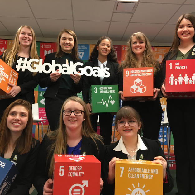 Promoting foundation at the United Nations