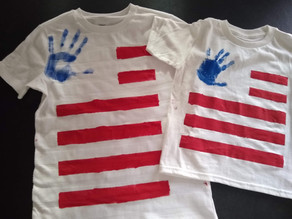 Jolly 4th of July Shirts & Fun Facts for Kids