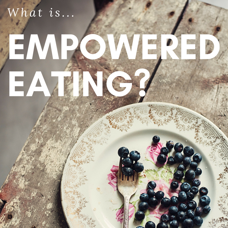 What Is Empowered Eating?