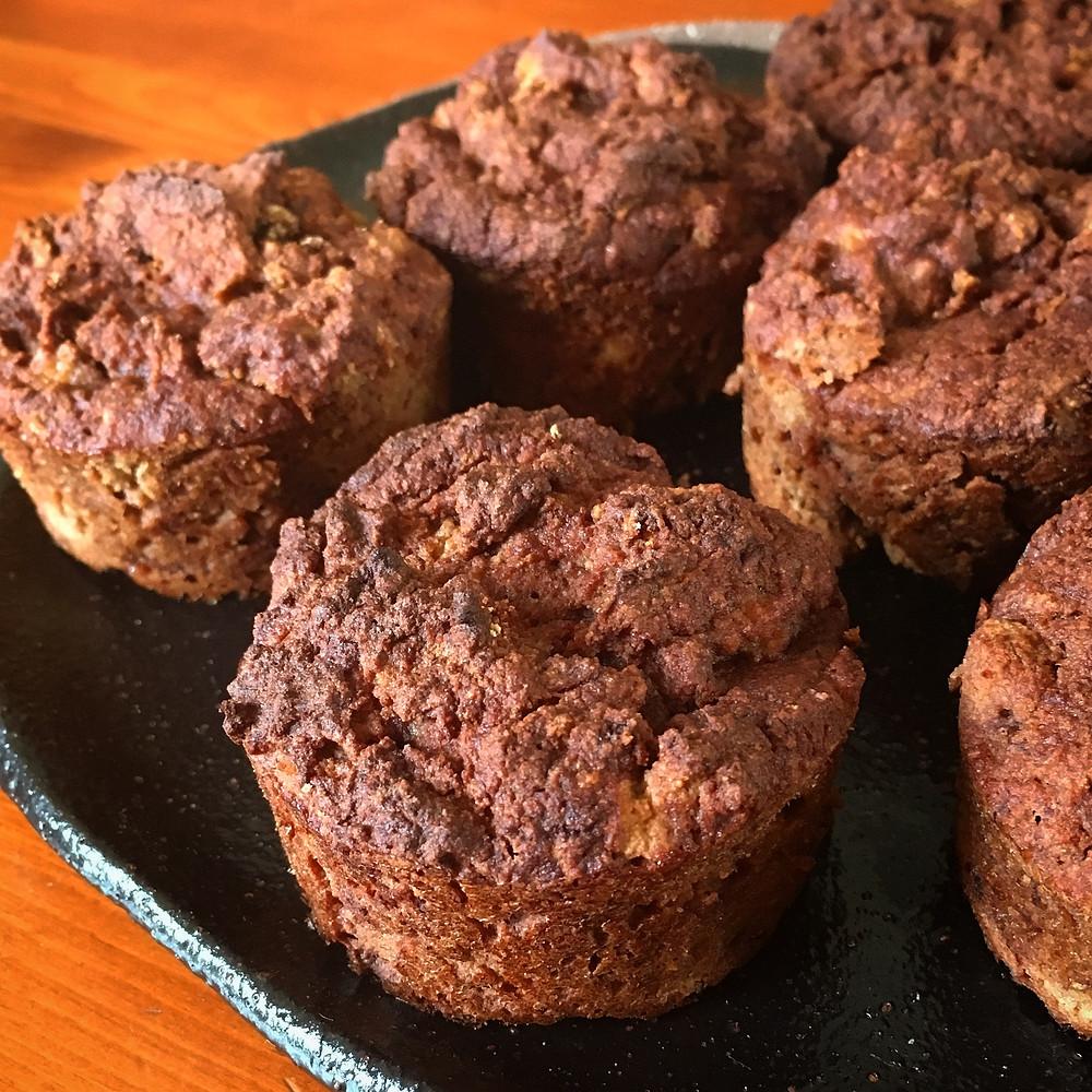 Feijoa muffins gluten free