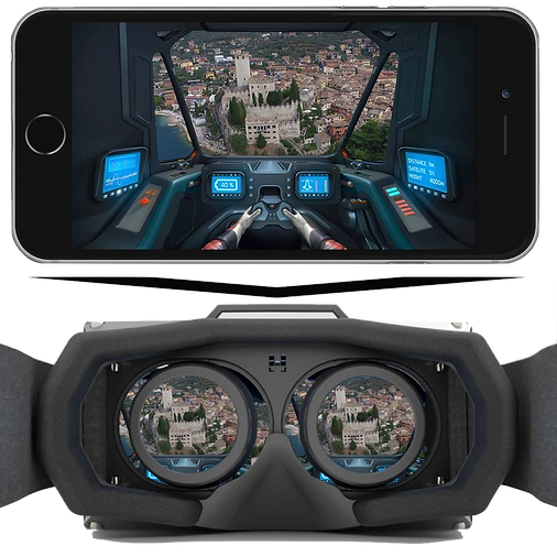 3D VR Cockpit app for DJI Inspire 1 and DJI Phantom