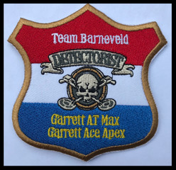 team Barneveld detectorist - garrett at