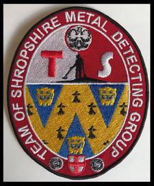 Team of Shropshire metal detecting group