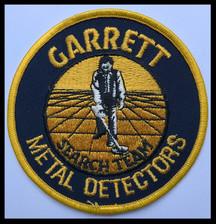 Garrett metal detectors search team (vin