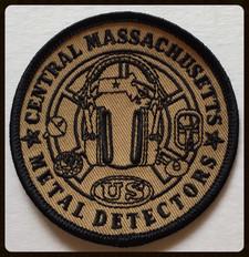 Badge central massachusetts - metal detectos