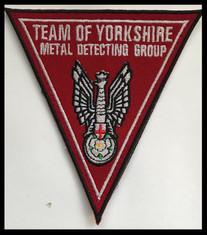 Team of Yorkshire metal detecting group.