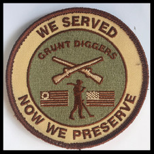 Grunt diggers - we served - now we prese