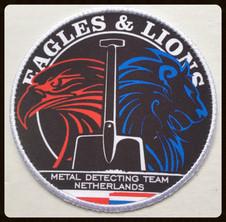 Eagles & Lions metal detecting team Neth