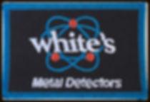 White's metal detectors badge