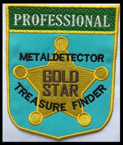 Professiinal metaldetector GOLD STAR tre