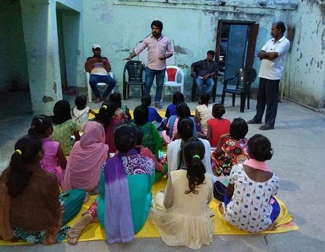 Community awareness about Human Traffick