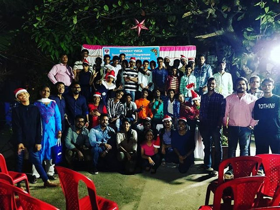 Celebration of X-Mas Party in YMCA Juhu