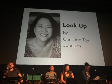 Look Up Reading for Meryl Streep/IRIS/NYWIFT Writers Lab fellowship in LA