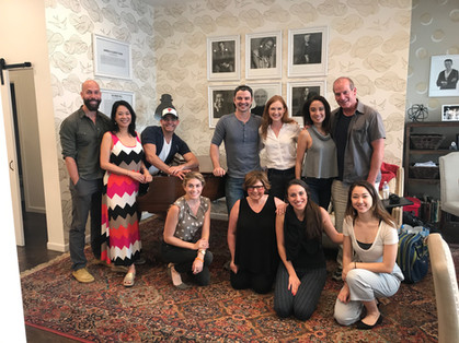 Till Soon, Anne table reading at Dramatists Guild Foundation
