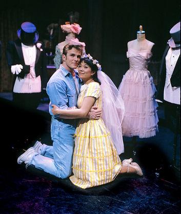 Bruce Alan Johnson and Christine Toy Johnson in West Side Story at Sacramento Light Opera