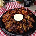BBQ/Buffalo Wing Tray