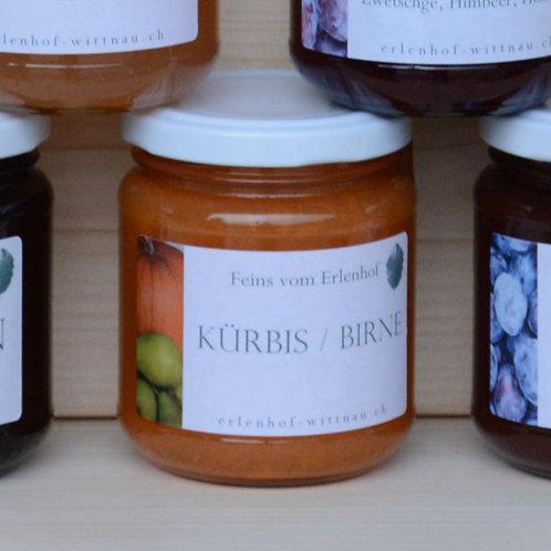 Kürbis-Birnen-Aufstrich 220g (Konfi)
