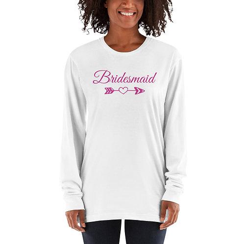 Bridesmaid Long sleeve t-shirt