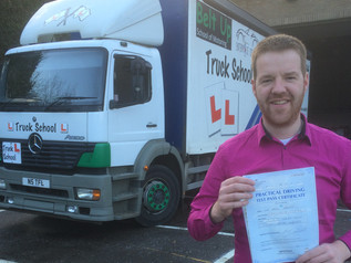 David smashes his test FIRST TIME