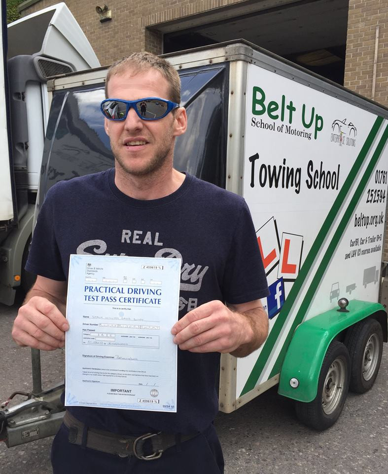 Shaun Bundy passes FIRST TIME with Belt Up School of Motoring
