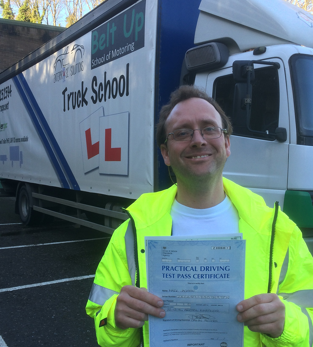 FIRST TIME HGV test pass
