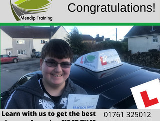 🔴 TEST PASS! 🔴  Brian Gilvray passed his driving test FIRST TIME!