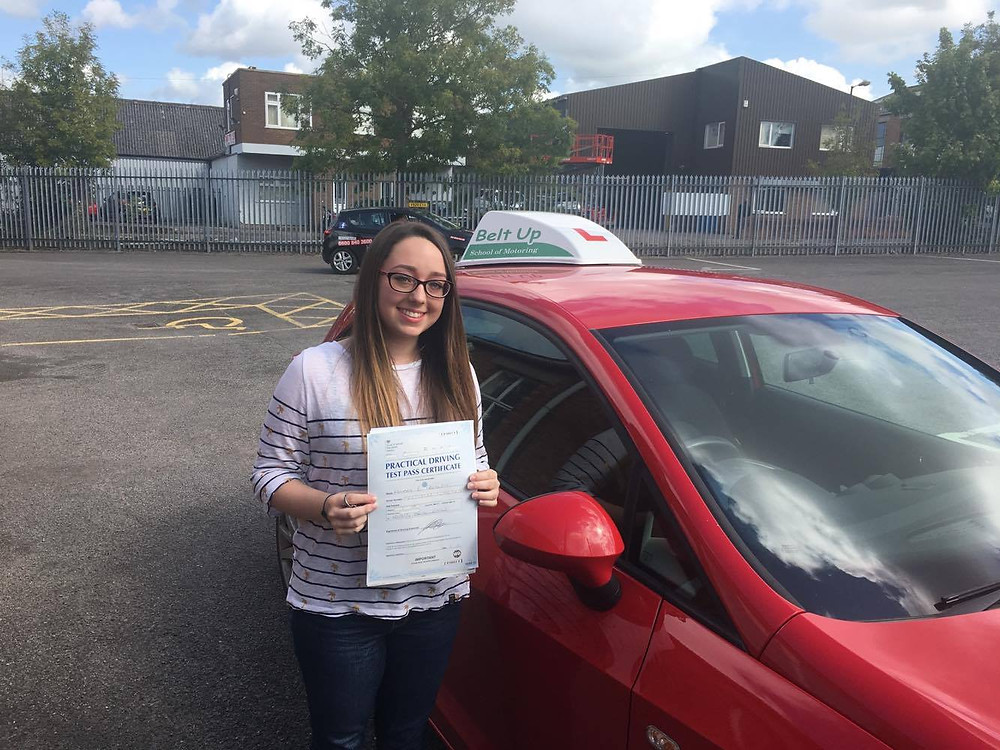 Amber passes her test.