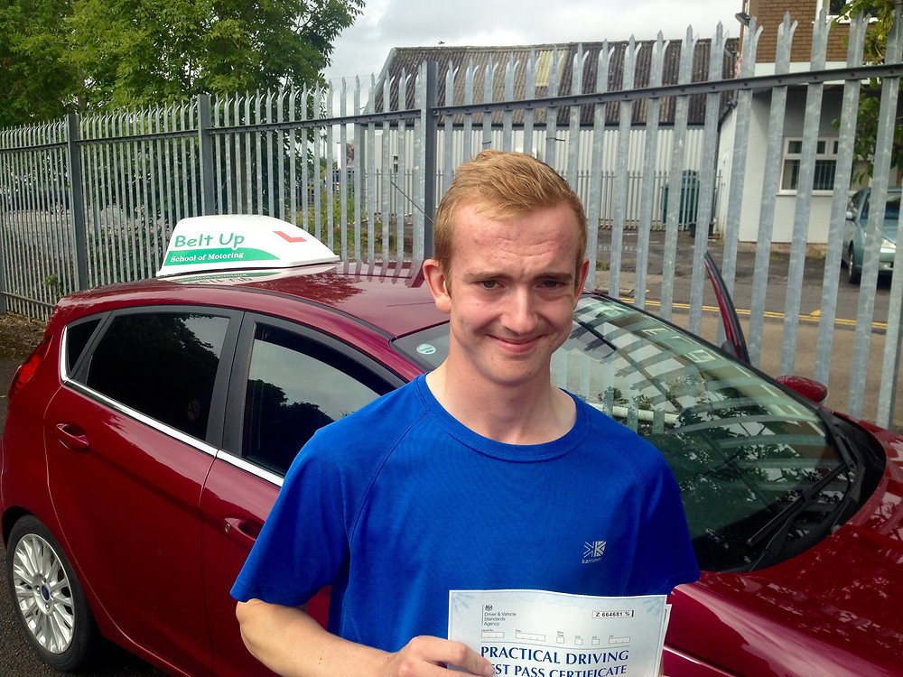 FIRST TIME car driving test pass with Belt Up School of Motoring