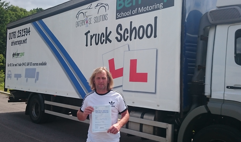 Mark Hanson is ecstatic to have passed FIRST TIME!