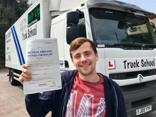 Terry Baker passes Class 2 with honours !!