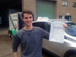 FIRST TIME car and trailer test pass for Harry