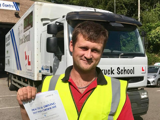 Fantastic news for Sam Greenman with a pass on Class 2