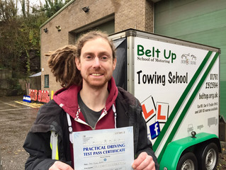 Car and trailer test pass in Bristol