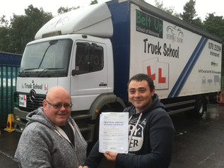 Another FIRST TIME pass for Truck School