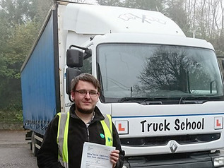 FIRST TIME class 2 test pass for Joel Johnson