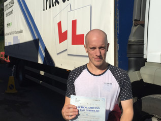 Paul passes his Class 2 test FIRST TIME