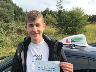 FIRST TIME driving test pass for Ben Legg