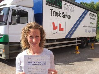 FIRST TIME pass for Naomi
