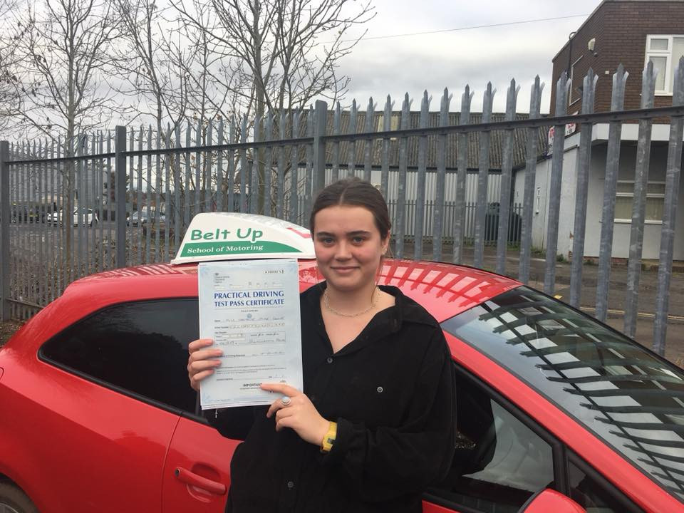Natalie Crowe passes FIRST TIME.