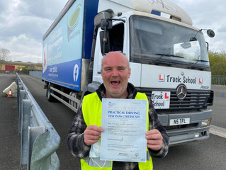 Dave passes his Class 2 FIRST TIME