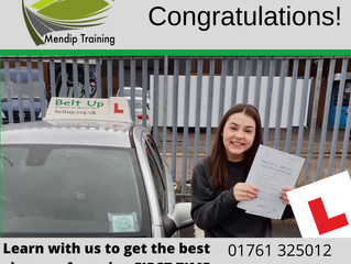🔴 TEST PASS! 🔴  Ashleigh Moore passed her driving test!
